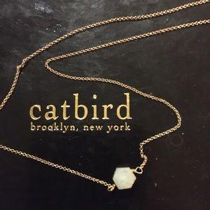 Catbird Cut Gem Delicate Chain
